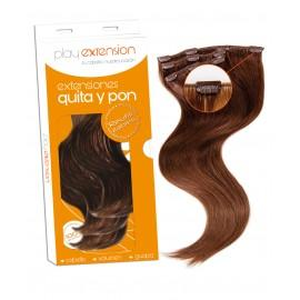 EXTENSIONES QUITA Y PON CABELLO NATURAL 60GR.