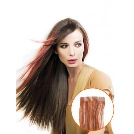 EXTENSION ADHESIVA CABELLO NATURAL 12 UND