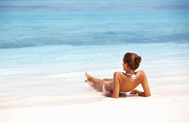 peinados comodos para playa