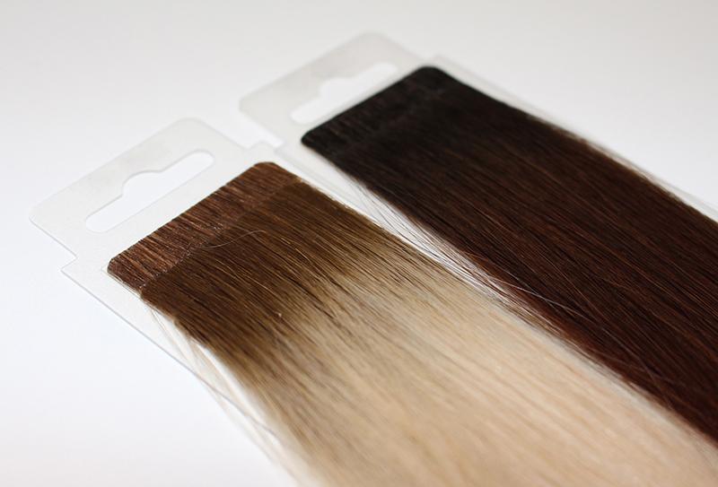 colores en extensiones adhesivas