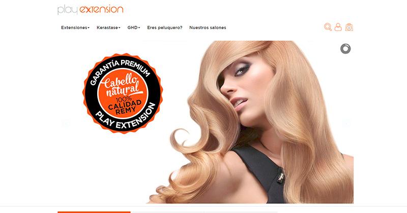 nueva tienda online de extensiones de pelo natural