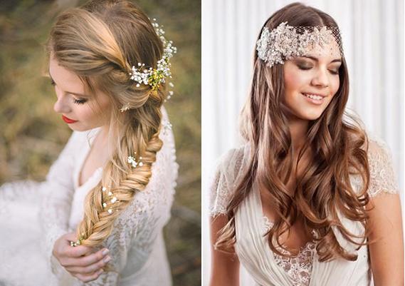 peinados novia 2017