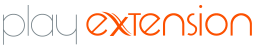 logotipo play extensions