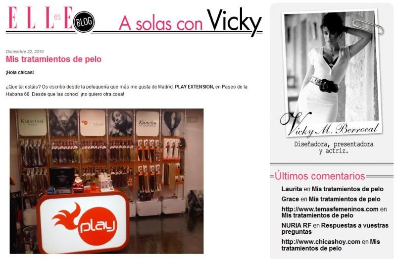 blog a solas con vicky extensiones pelo natural