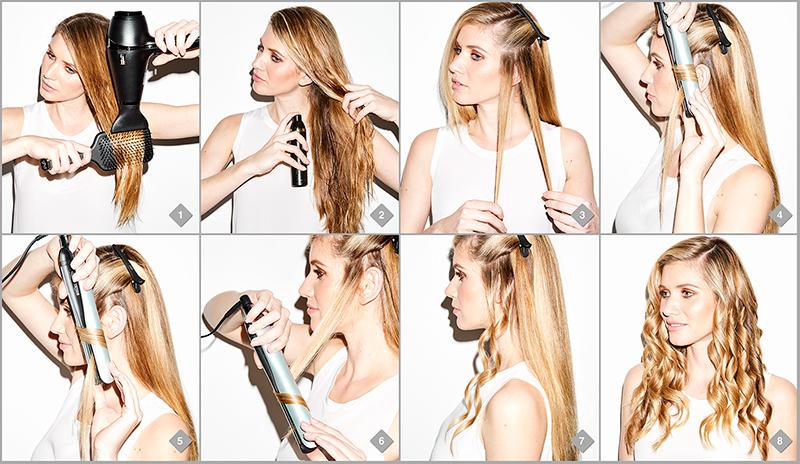 paso a paso como ondular pelo