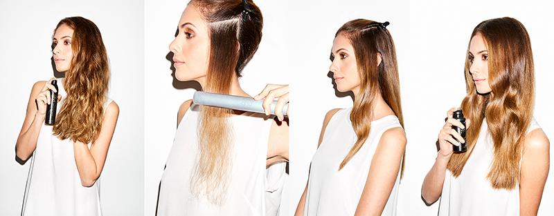 paso a paso como planchar pelo