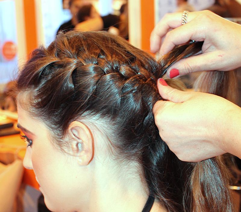 que peinados se pueden hacer con adhesivas
