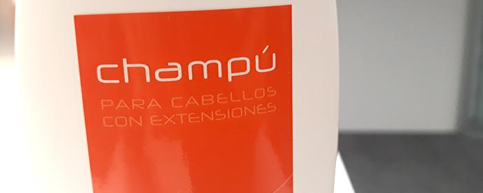 champu especial extensiones