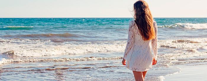 como cuidar extensiones en la playa