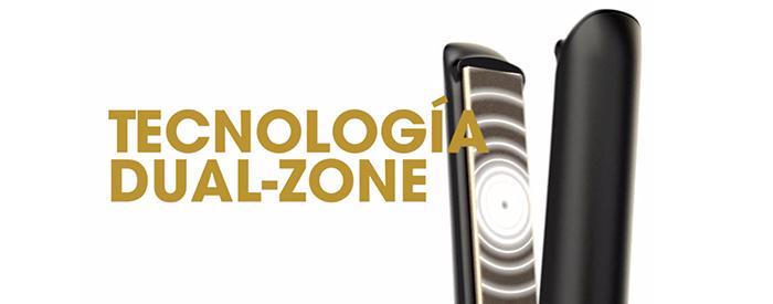 planchas ghd tecnologia dual zone