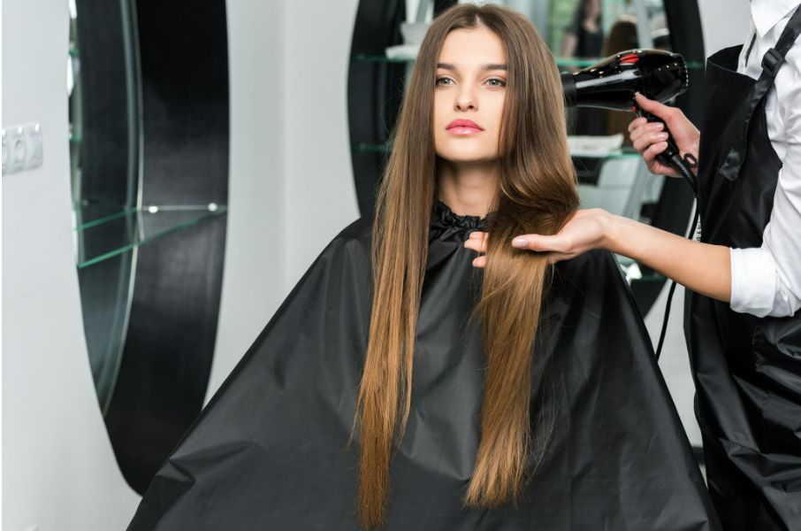 melena extra larga con extensiones de pelo