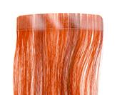 detalle extension de pelo adhesiva