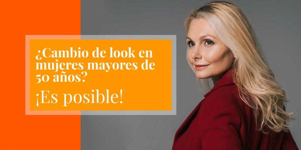 cambio de look en mujeres mayores